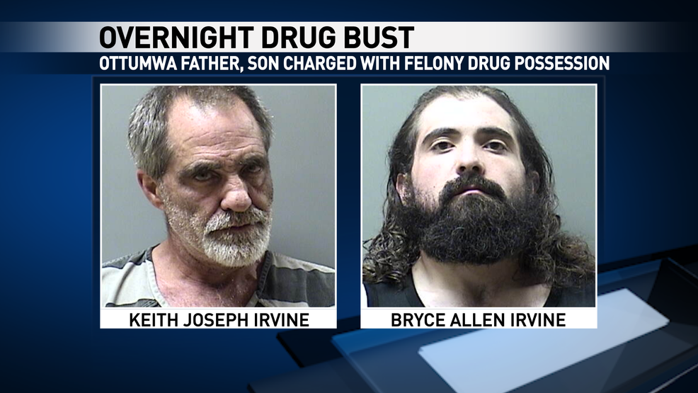 Ottumwa father, son arrested in overnight drug bust | KTVO