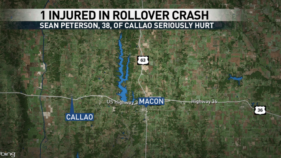 Driver ejected during crash outside Callao   KTVO