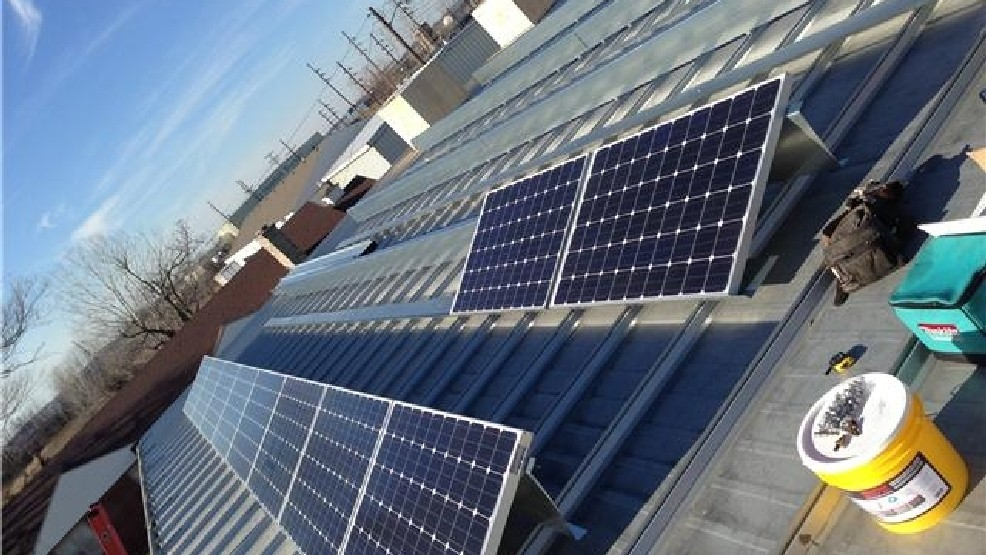 P Kelly S Furniture In Kirksville Began Installing Solar Panels To Produce Electricity