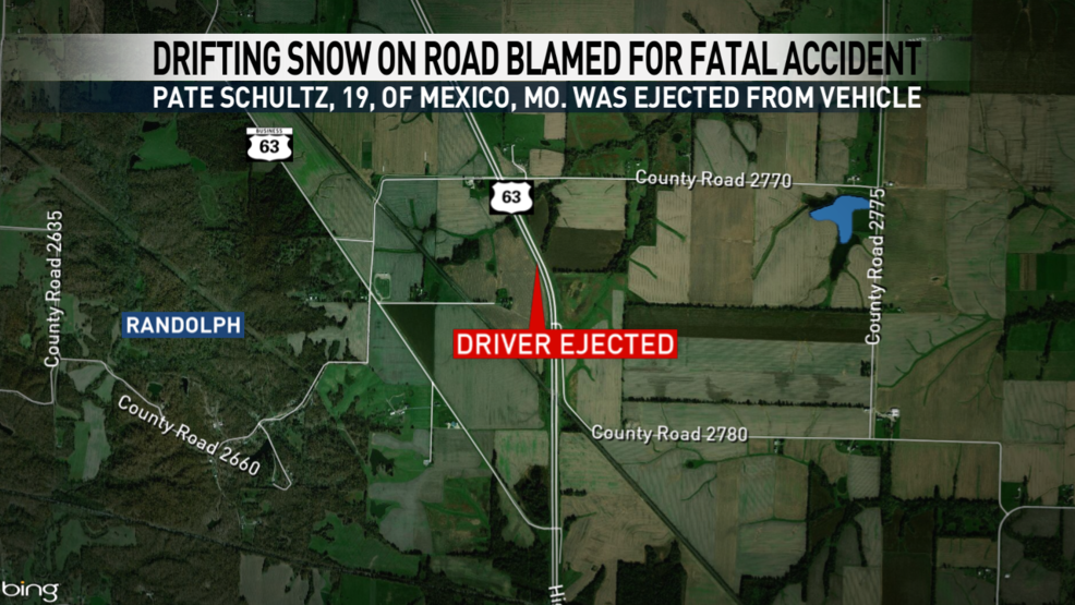 Blowing Drifting Snow Causes Fatal Crash On Missouri Highway Ktvo