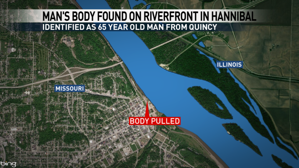 found near Hannibal marina over weekend has been identified | KTVO on illinois state map missouri, map of streets in hannibal, map downtown hannibal,